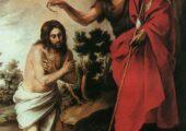свети йоан кръщава Исус